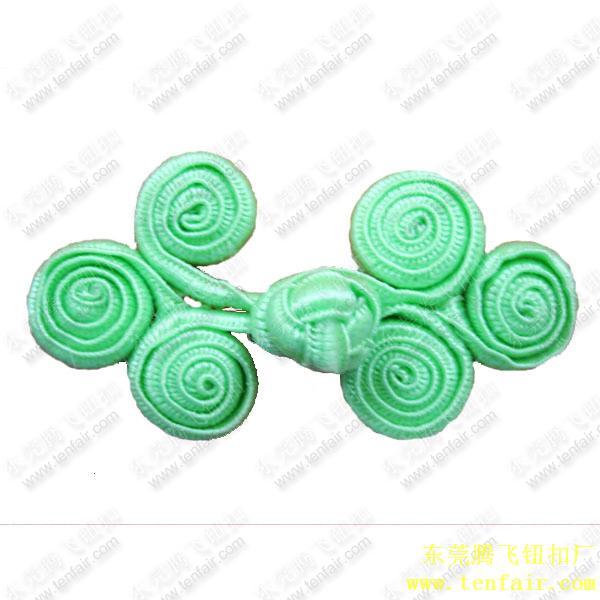 三轮旗袍扣:盘扣(唐装钮扣)
